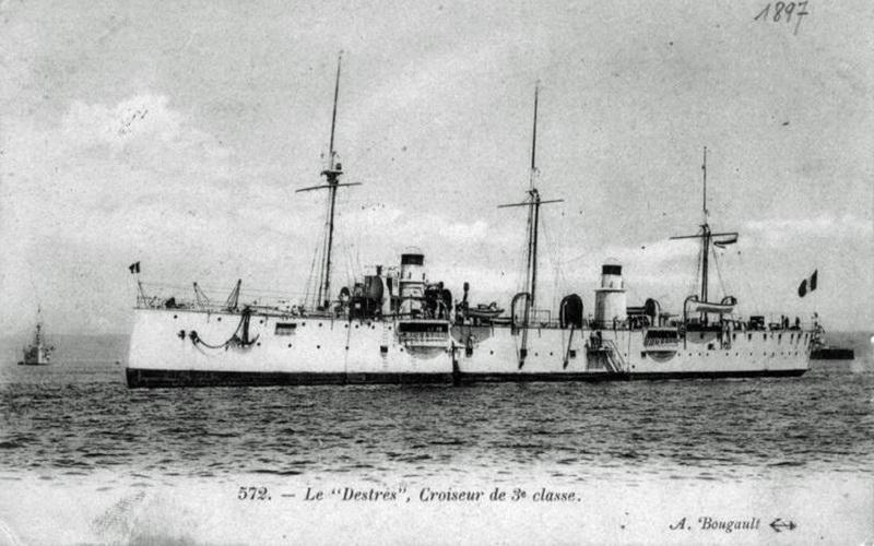 Croiseurs français  - Page 7 Destre11