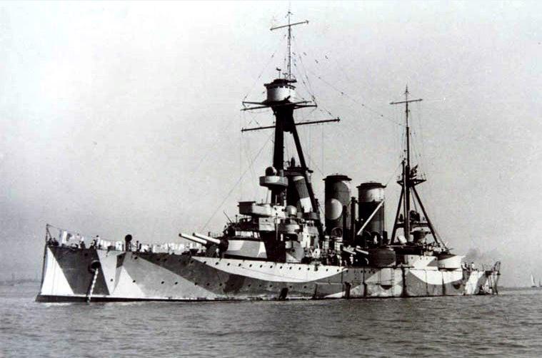 G. Averof, dernier croiseur-cuirassé à flot. Georgi10