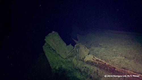 L'épave retrouvée du Hiei Hiei0110