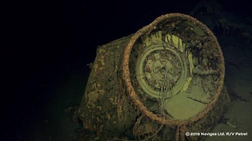 L'épave retrouvée du Hiei Hiei1110