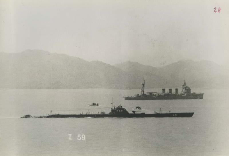 Les sous-marins japonais jusqu'en 1945 - Page 2 I59_ku10