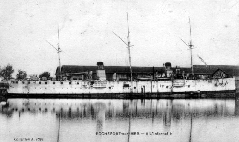 Croiseurs français  - Page 7 Infern10