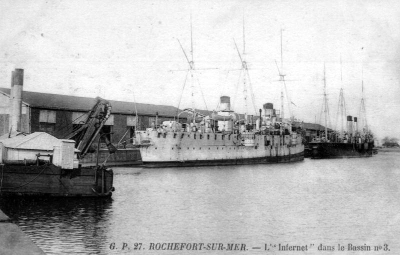 Croiseurs français  - Page 7 Infern11
