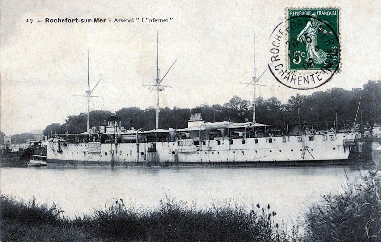 Croiseurs français  - Page 7 Infern12