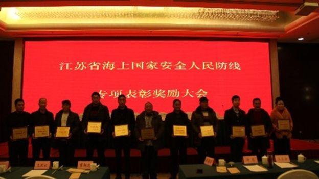 Pêcheurs chinois et milices de la mer Jiangs10