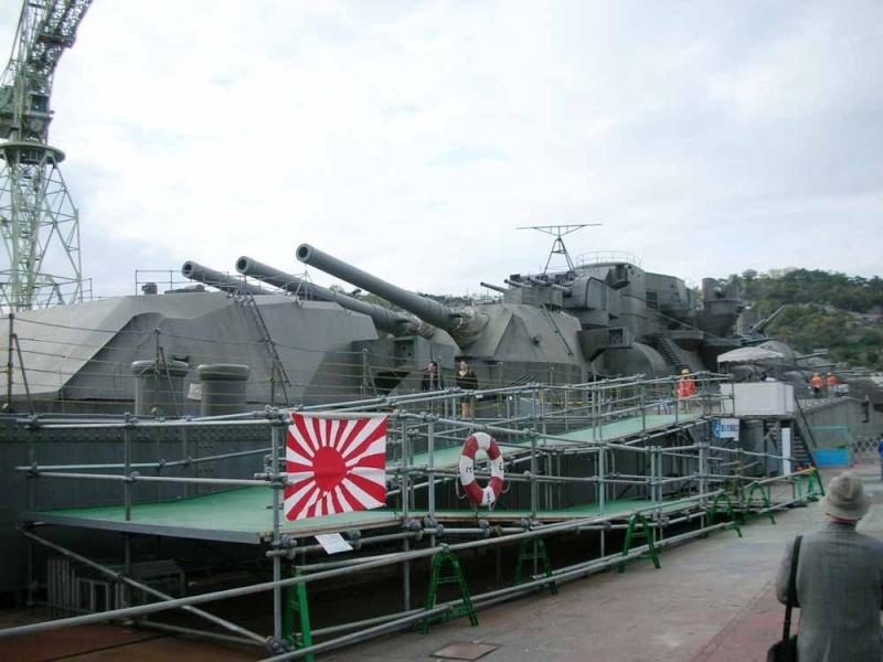 Le souvenir de la Marine Impériale - Page 7 Yamato15