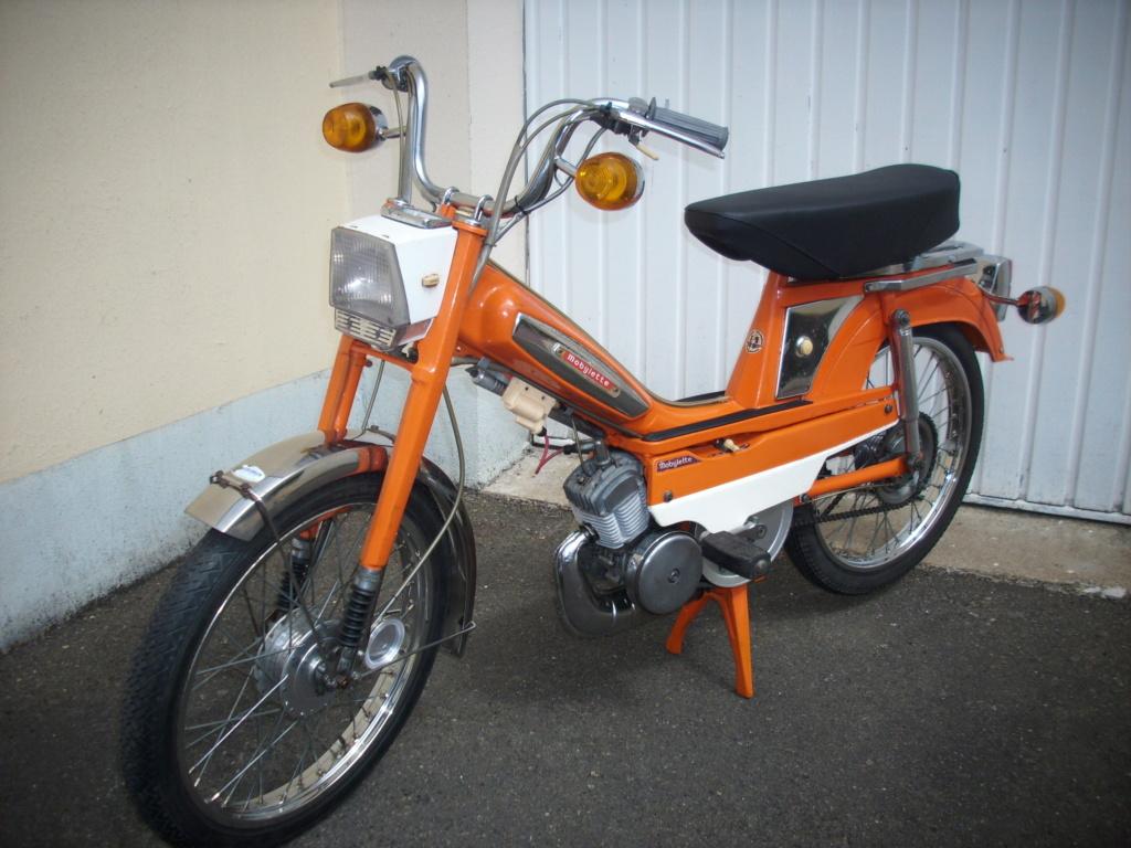 "Motobecane "" orange "" Mob_or15"