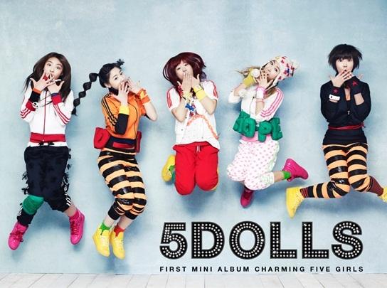 [NEWS] 5dolls promoverá duas músicas, produzidas por Brave Brothers e Cho Young Soo. Album210