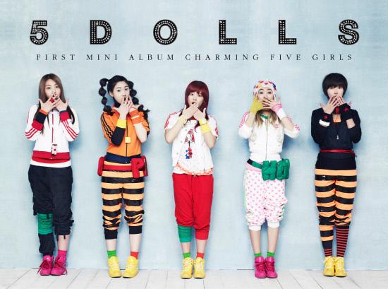 [NEWS] 5dolls revela foto do conceito e teaser do MV. Album310