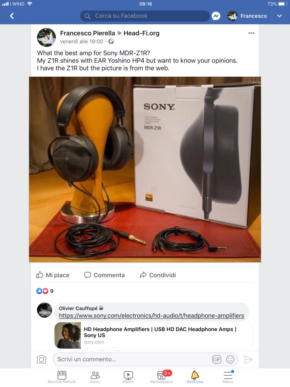Sony MDR-Z1R e Loxjie P20...credete ai miracoli? Da oggi io un po di più! C5f2d610