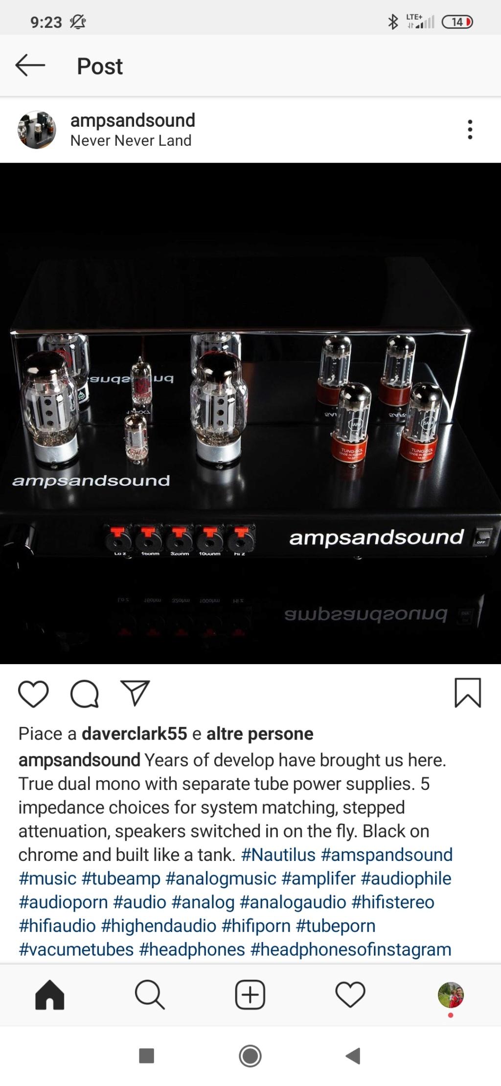 ampsandsound headphones amplifier Screen36