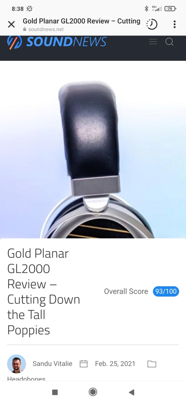 Gold Planar GL2000 double magnet version - Pagina 2 Screen86