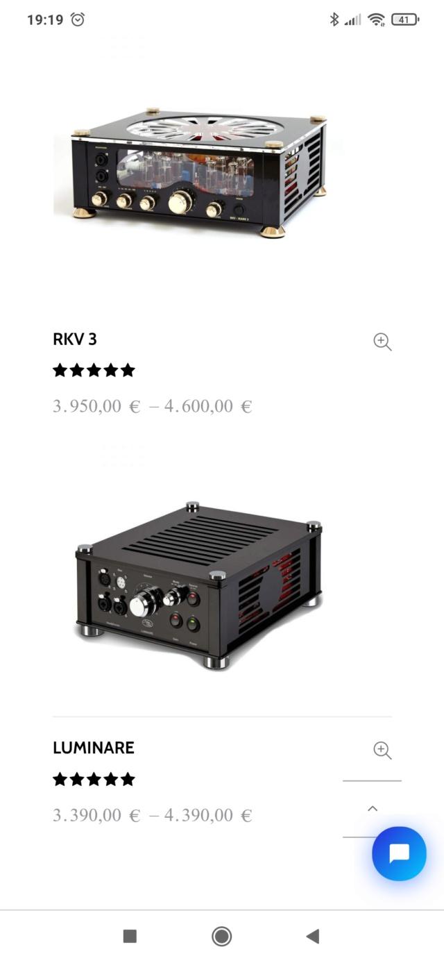 Audiovalve Headphone Amplifier Screen88