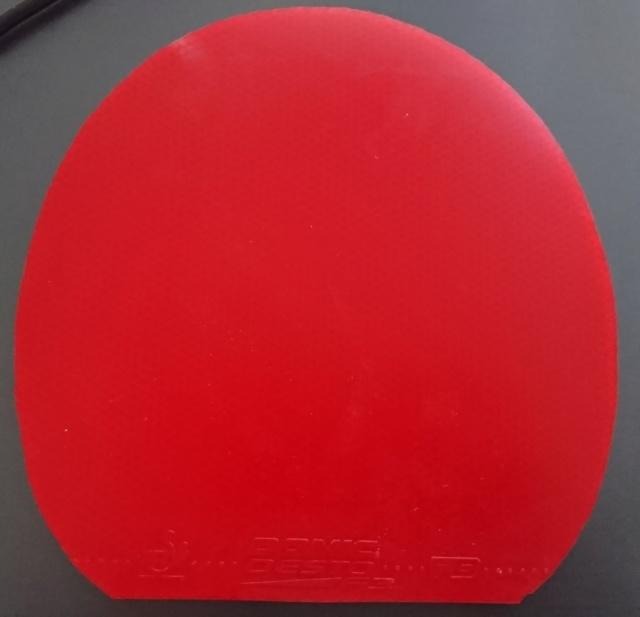 Donic desto F3 rouge 1.8 pour test 9€ Dsc_5412