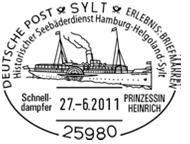 Schiffe im Stempel Unbena14