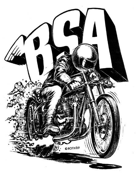 bsa racer Bsa-ro10