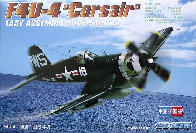 [FINI][Hobbyboss] F4U-4 Corsair Hobbyb40