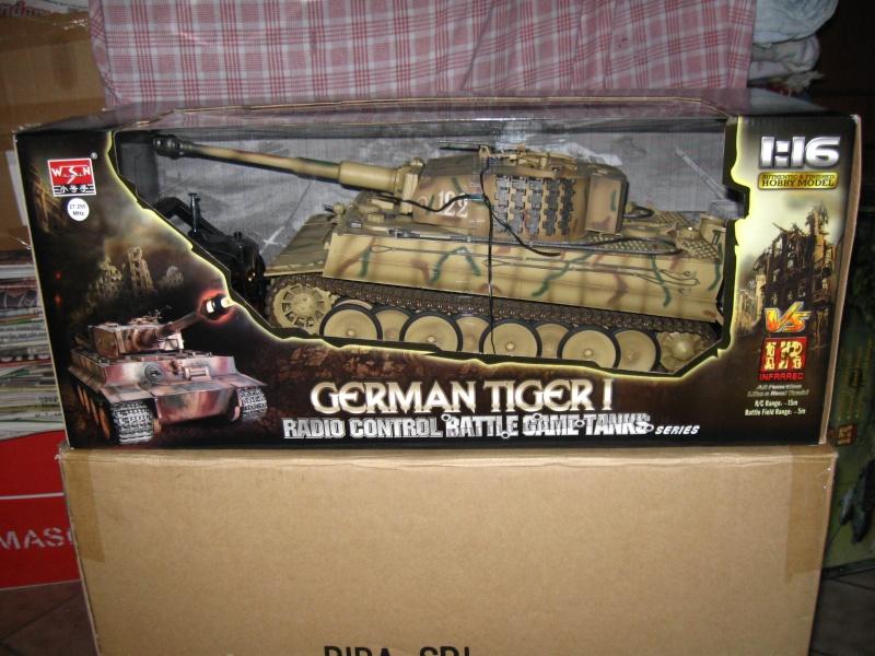 [VENDUTO] Vendo Tiger I Mid Wasam Trumpeter 1:16 Rc Infrared Foto_p16