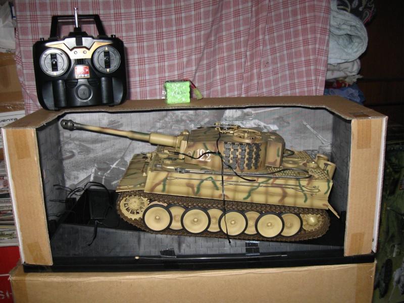 [VENDUTO] Vendo Tiger I Mid Wasam Trumpeter 1:16 Rc Infrared Foto_p17