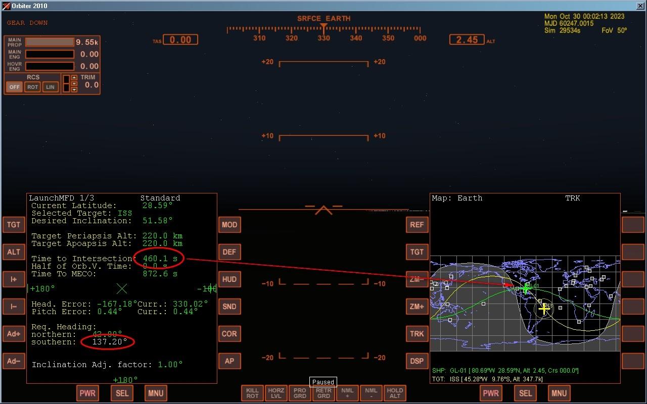 Coordinate spaziali Launch10
