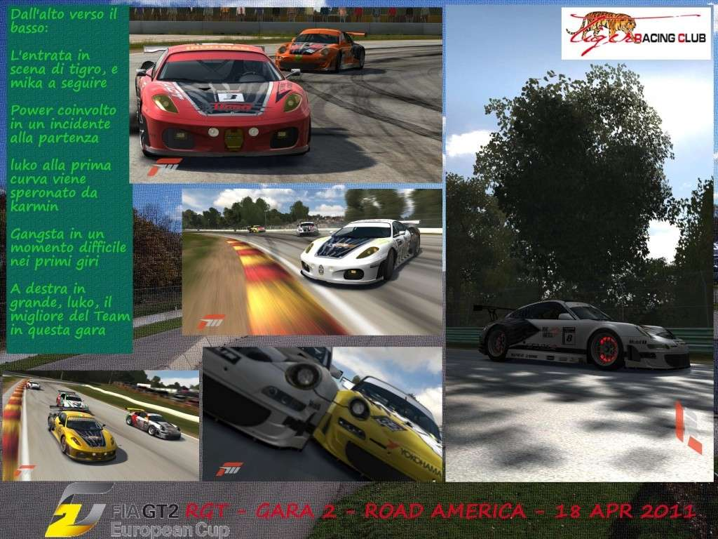 [ALBUM GARA FM3] - CAMPIONATO FIAGT2 - Gara 2 - Road America Roadam10
