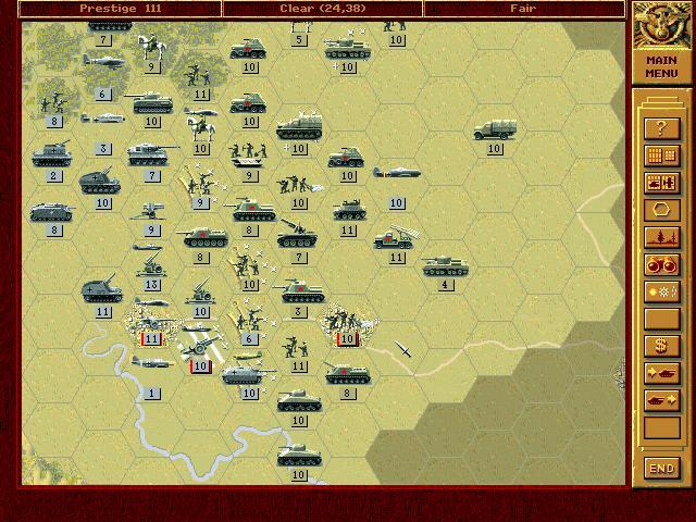 Bragration : Silvio Nacucchi Scenario on Summer Russian Offensive  10lwov10