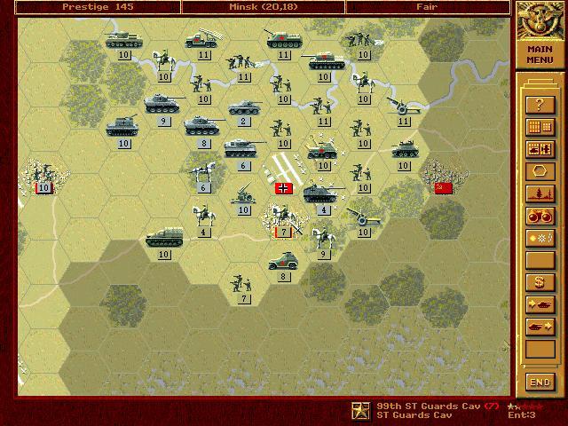 Bragration : Silvio Nacucchi Scenario on Summer Russian Offensive  11mins10