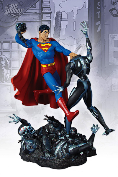 SUPERMAN VS. BRAINIAC Statue   Sup_di10