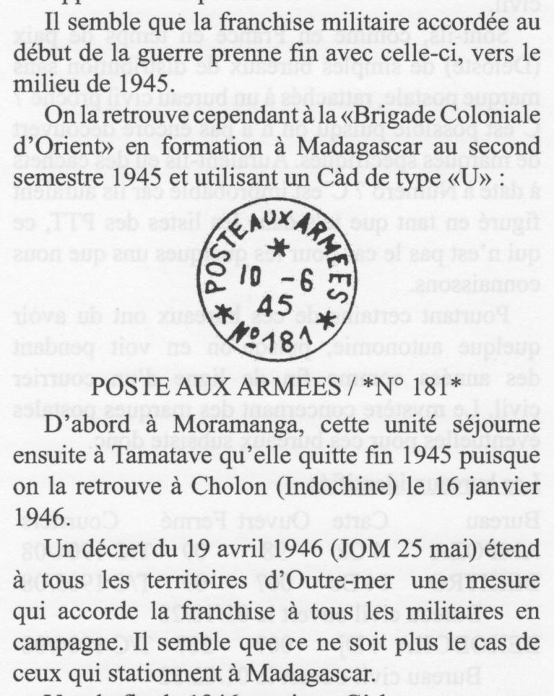 CP en FM de Majunga, 13 FEV 1946, par BCM... Madaga10