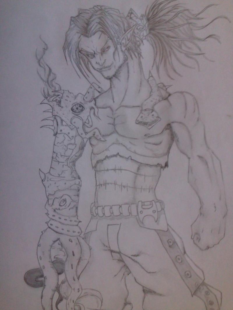 Petit dessin: bras du démon Photo013