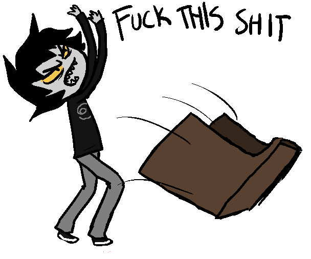 HEY THERE would you like to talk about HOMESTUCK? - Page 2 Karkat10