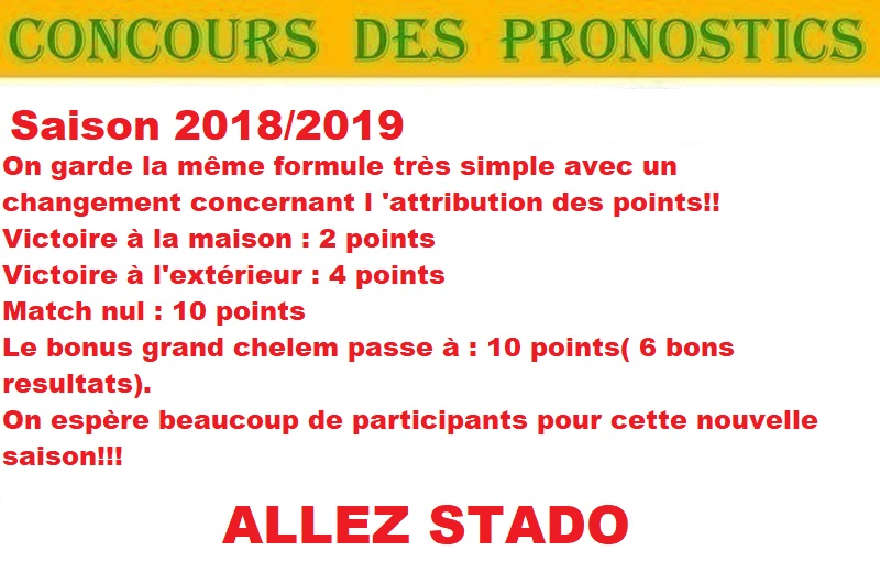 CONCOURS PRONOS 2018/2019 Concou10
