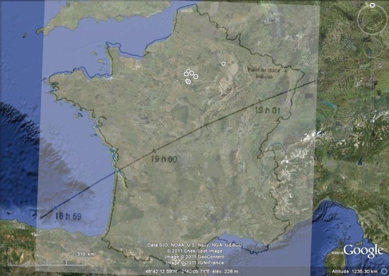 1990: le 5/11 à 19h30 - Un engin de grande taille - Issy Les Moulineaux (92) - Page 2 Trajec10