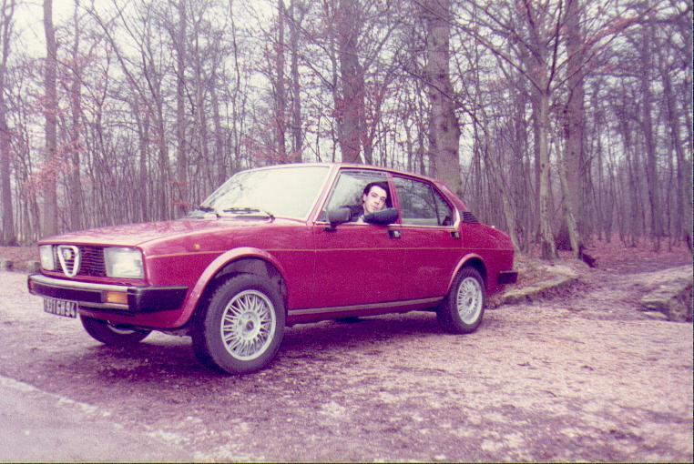 Quelques unes de mes anciennes autos........................et motos Alfa1910