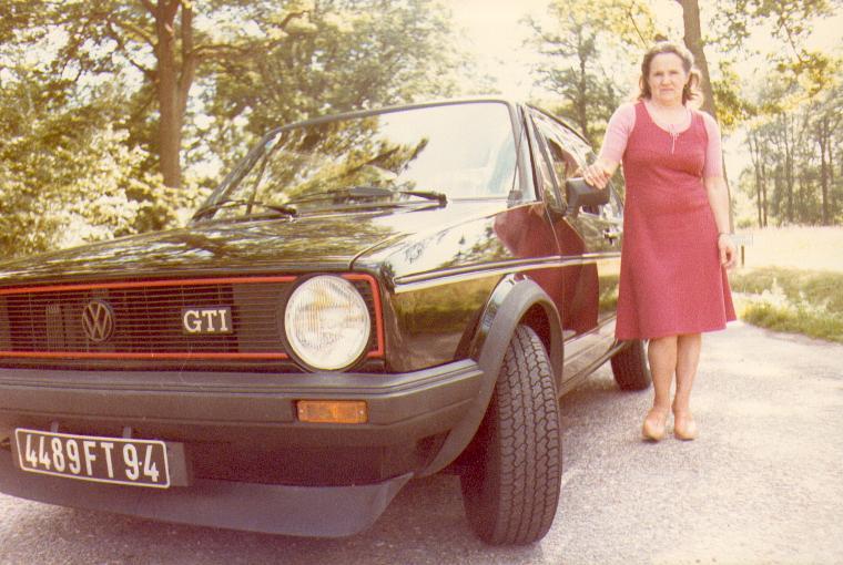 Quelques unes de mes anciennes autos........................et motos Golfgt11