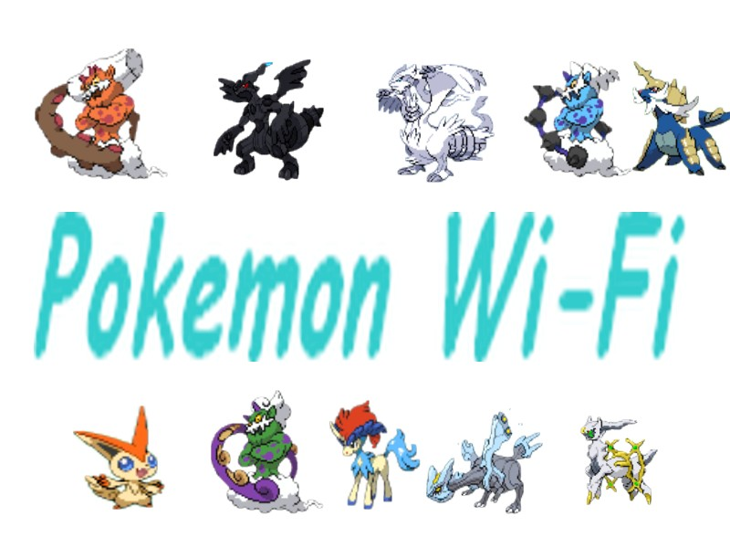 Pokemon Wi-Fi