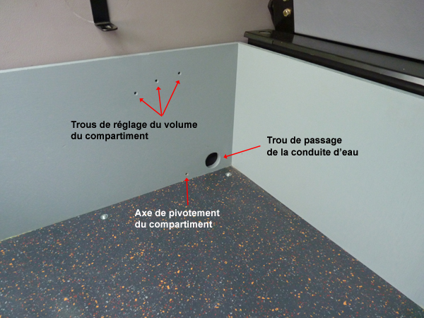 Réservoir d'eau propre additionnel Compar11