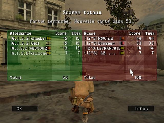Resultats inter contre {12s} Sniper56