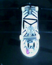 Tech Deck White Dipped Img01025