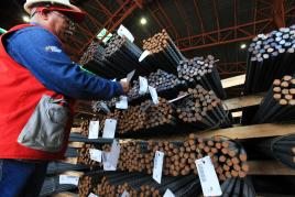 Producción de cabillas en Sidor creció 113% con respecto a mayo de 2010  Sidor10