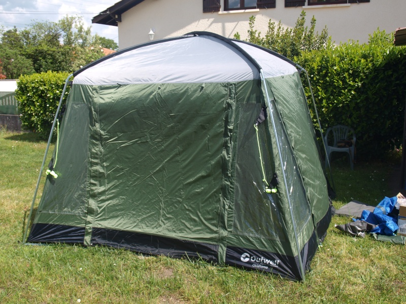OUTWELL/Tente d'appoint ou abri OKLAHOMA DAY TENT Essai_19