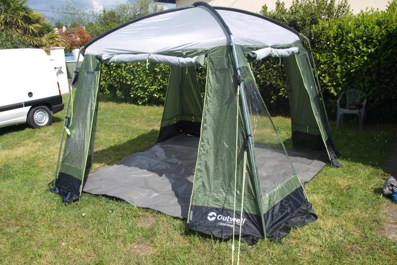 OUTWELL/Tente d'appoint ou abri OKLAHOMA DAY TENT Essai_20
