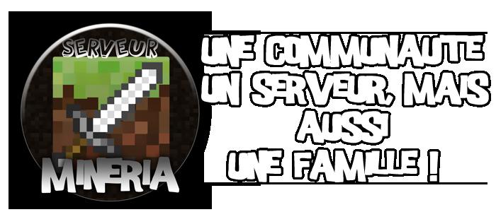 Minéria Communauté Minecraft