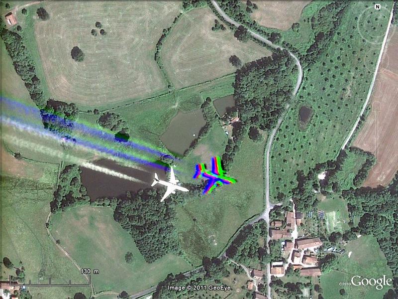 Les avions en phase d'atterrissage aperçus sur Google Earth - Page 2 Airbus10