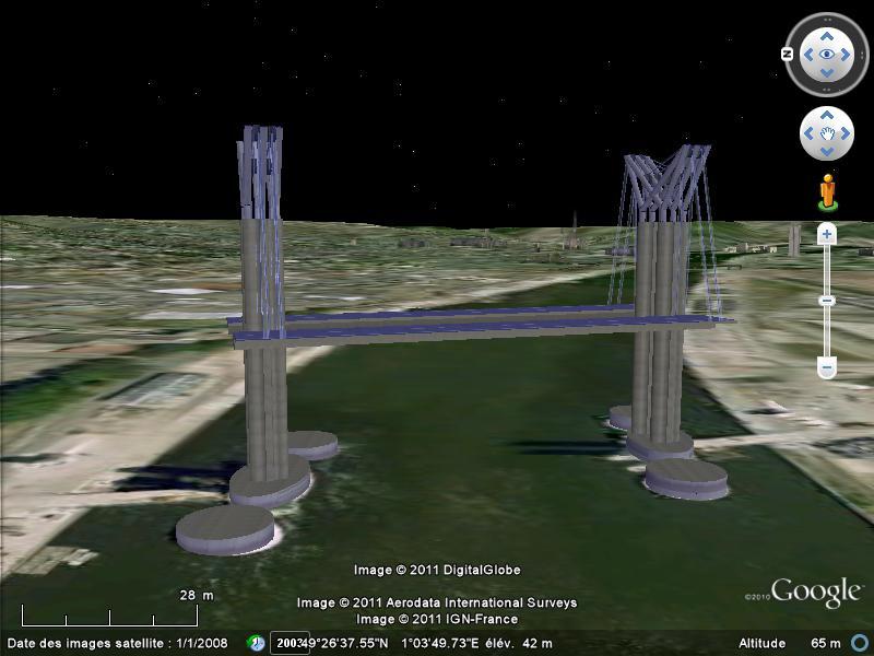 Grands Monuments du Monde en structure 3D [Sketchup] Flaube10
