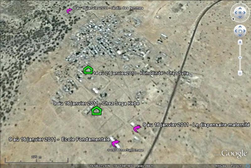 [MALI] - Village de Komodindé - Commune de Konsiga - Arrondissement de Tambakara - Cercle de Yélimané - Région de Kayes Google10