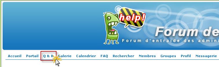 Amélioration FDF: Mise en place les web-pages Questions/Réponses fréquentes 02-05-12