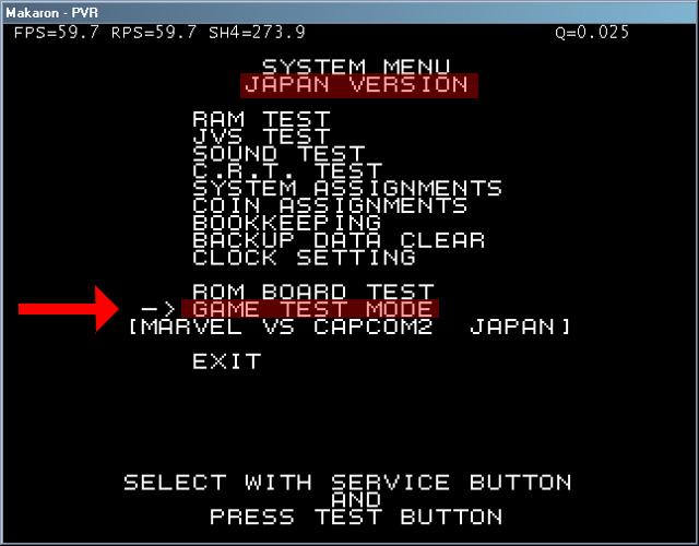 NAOMI] Débloquer tous les persos de Marvel VS Capcom 2