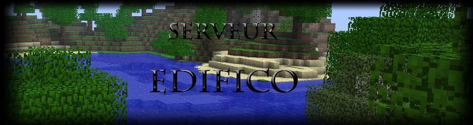Serveur Minecraft Edifico
