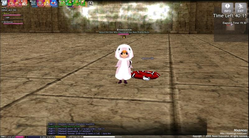 Random Screenshots! Mabino10